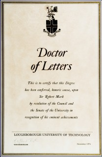doctor of letters