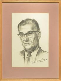 Portrait by John Worsley