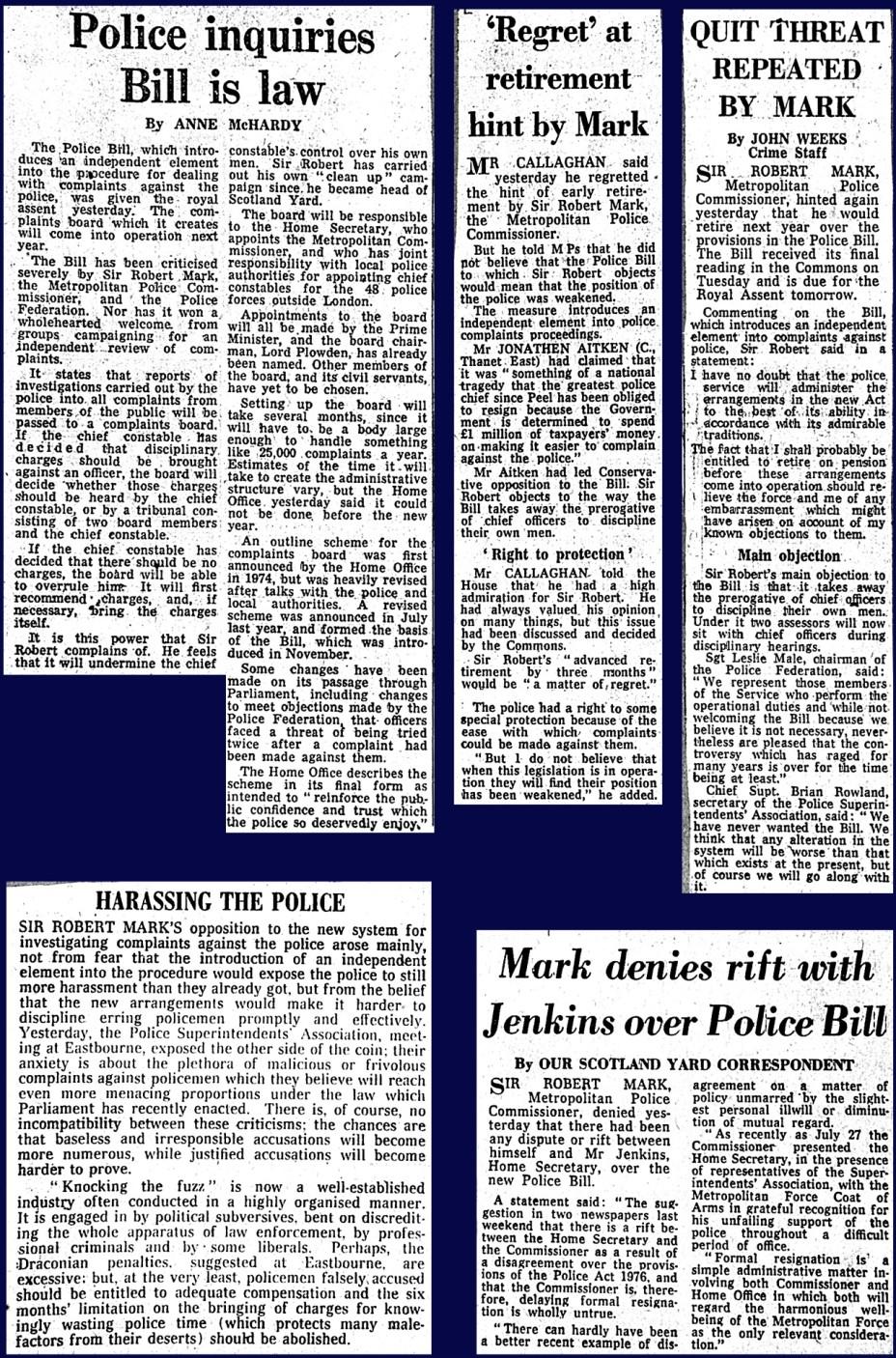 Police Enquiries Bill