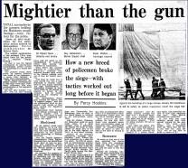 mightier than the gun
