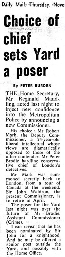 daily mail 1972