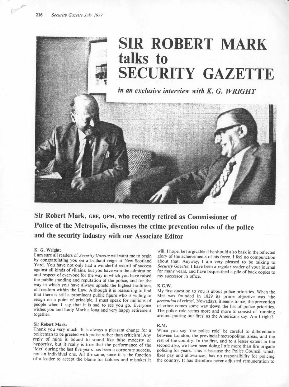 security gazette interview 1