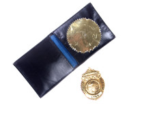 Honorary Police Chief Badge
